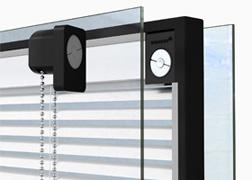 Магнитная система жалюзей в стеклопакете